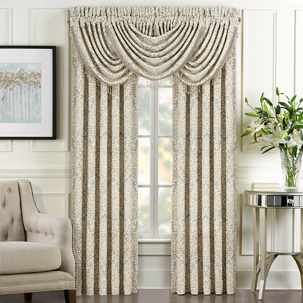 Queen Street Rainna Rod-Pocket Curtain Panel