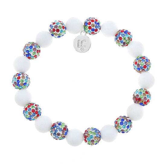 Liz Claiborne Multi Color Round Stretch Bracelet