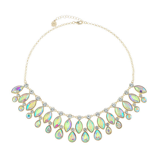 Monet Jewelry White 18 Inch Cable Collar Necklace