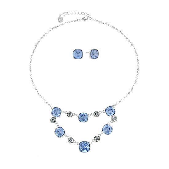 Monet Jewelry 2-pc. Blue Jewelry Set