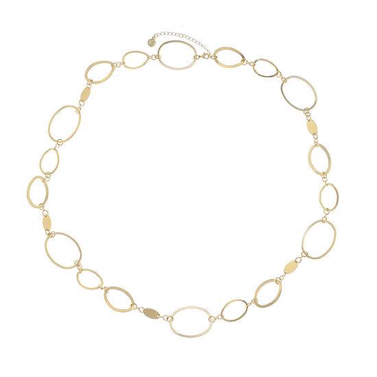Liz Claiborne 38 Inch Link Strand Necklace