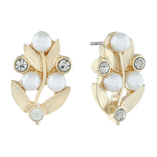 Monet Jewelry 90th Anniversary 19mm Stud Earrings