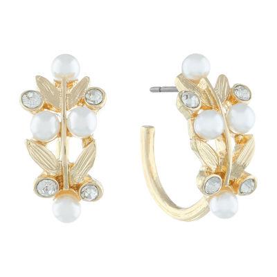 Monet Jewelry 90th Anniversary 24mm Hoop Earrings