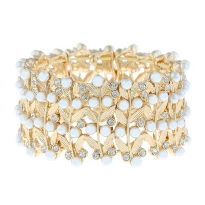 Monet Jewelry 90th Anniversary Stretch Bracelet