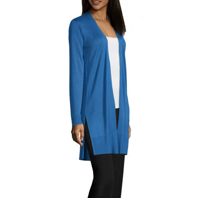 Worthington Long Sleeve Duster Cardigan - Tall