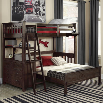 Highlands Twin Loft with Full Lower Bed