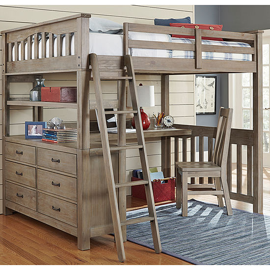 Highlands Loft Bed with Desk