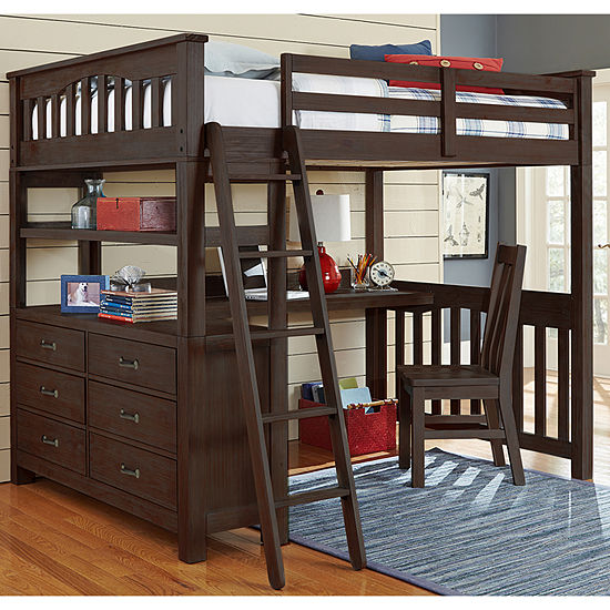 Highlands Loft Bed with Desk