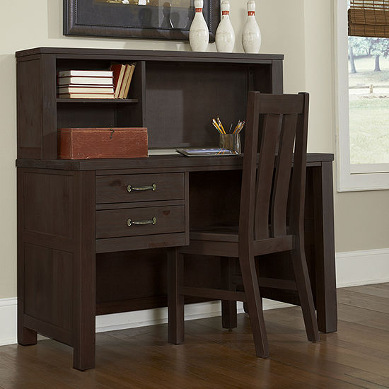 Highlands Desk and Hutch