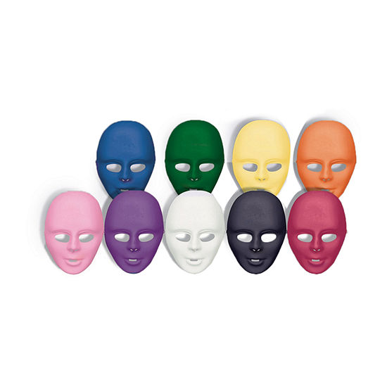 White Face Mask Dress Up Accessory