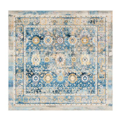 Safavieh Claremont Collection Riagan Oriental Square Area Rug
