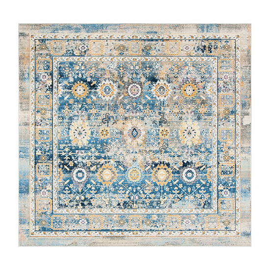 Safavieh Claremont Collection Riagan Oriental Square Area Rug