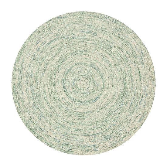 Safavieh Ikat Collection Randall Geometric Round Area Rug