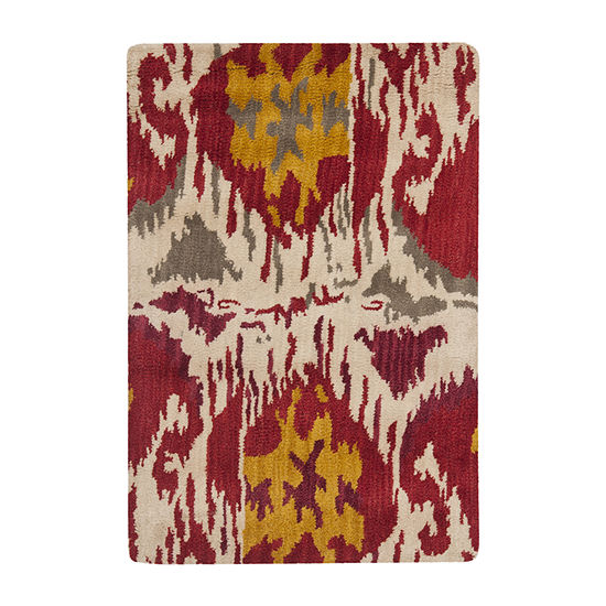 Safavieh Ikat Collection Jayme Abstract Area Rug