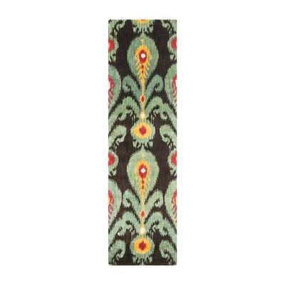 Safavieh Ikat Collection Hollie Floral Runner Rug