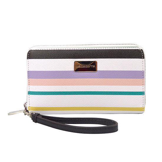 Liz Claiborne Erica Zip Around Wallet