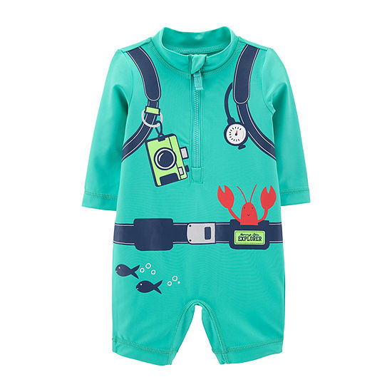 Carters One Piece Swimsuit Baby Boys