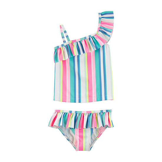 Carters Girls Tankini Set Toddler