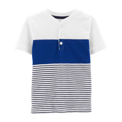 Carter's Boys Short Sleeve Henley Shirt - Toddler