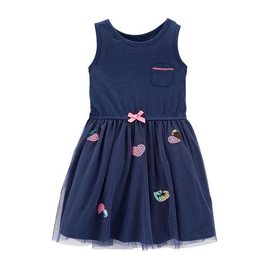 Carter's Girls Sleeveless Tutu Dress - Toddler