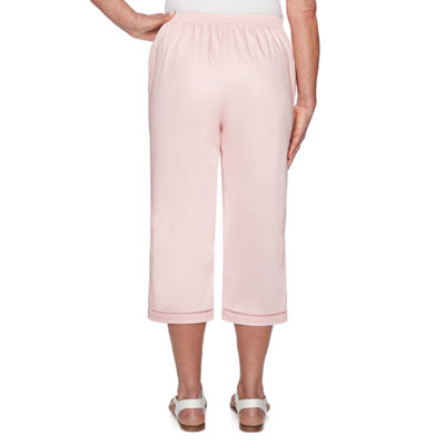 Alfred Dunner Society Page High Waisted Petite Capris