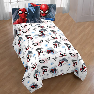 Spiderman Microfiber Easy Care Twin Sheet Set