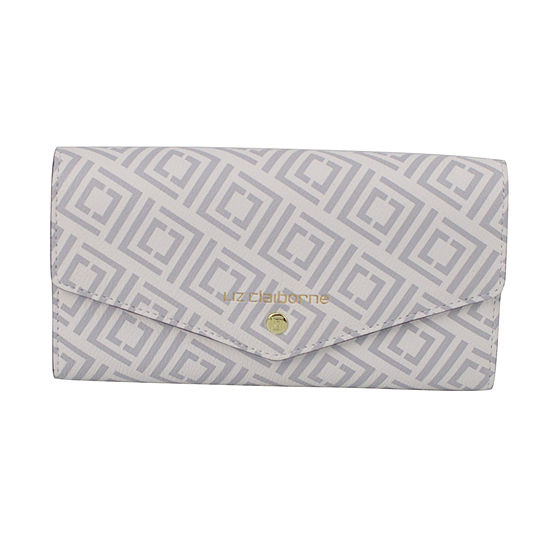 Liz Claiborne Envelope Clutch Wallet
