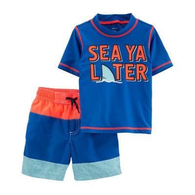 Carter's Boys Trunk Set - Toddler