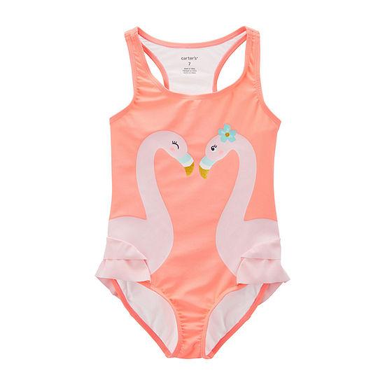 Carter's One Piece Swimsuit Preschool / Big Kid Girls