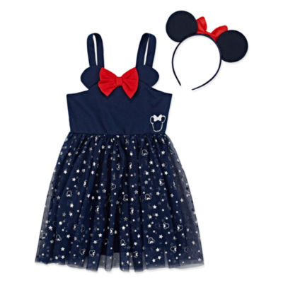 Disney Sleeveless Minnie Mouse Babydoll Dress - Toddler Girls