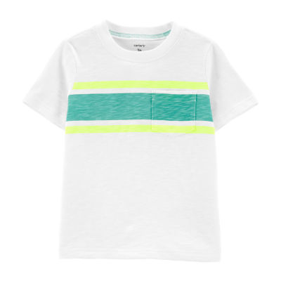 Carter's Boys Round Neck Short Sleeve T-Shirt-Baby