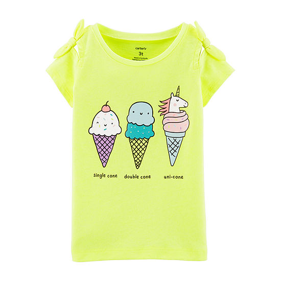 Carter's Baby Girls Round Neck Tank Top