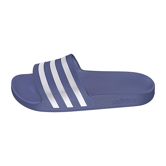 newest 9af79 bfd89 adidas Womens Adilette Aqua Sandal Slide Sandals - JCPenney