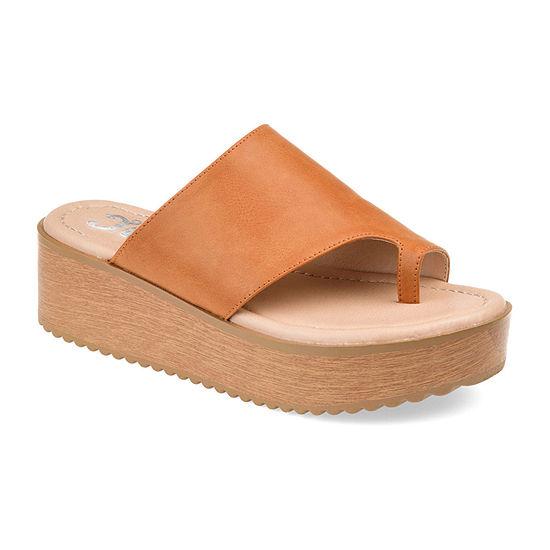 Journee Collection Womens Arabel Heeled Sandals