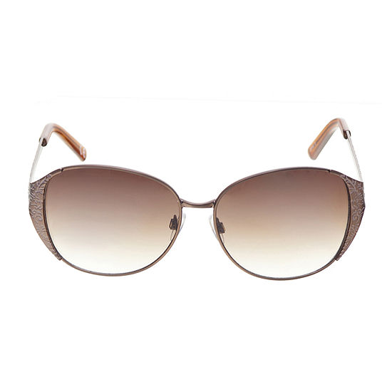 Mixit Metal Round With Etching Womens Sunglasses