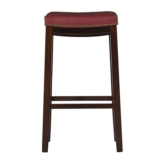 Lakeland Upholstered Backless Barstool