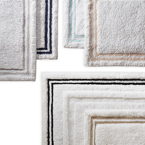 Fieldcrest Luxury Border Stripe Bath Rug