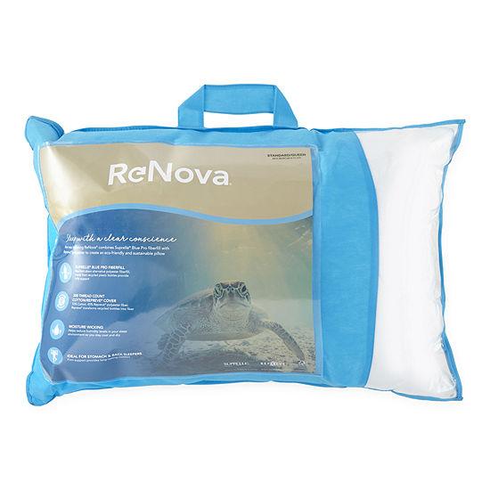 Renova® Repreve Recycled Fiber Back Sleeper Medium Density Pillow