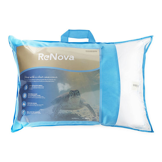 Renova® Repreve Recycled Fiber Side Sleeper Medium Density Pillow
