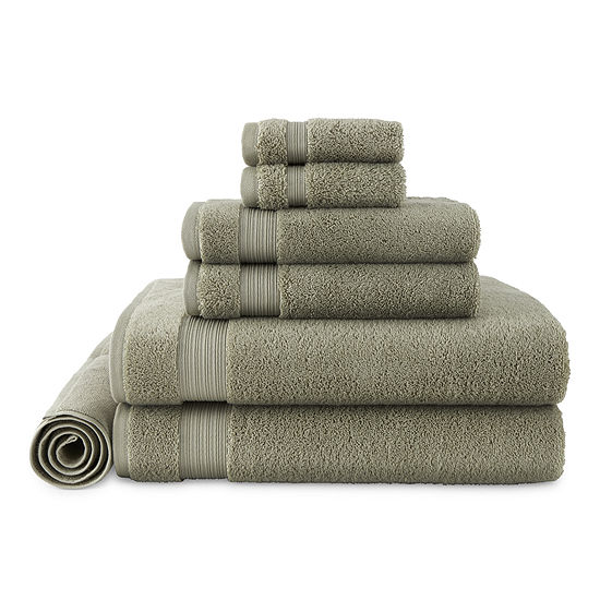 Linden Street Organic 7-pc. Solid Bath Towel Set