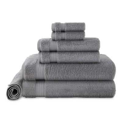 Linden Street Organic 7-pc. Solid Bath Towel Set