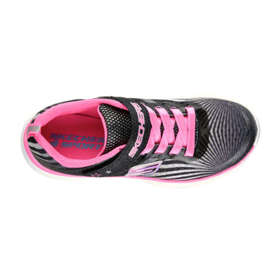 Skechers® Pepsters Colorbeam Girls Slip-On Sneakers - Little Kids/Big Kids