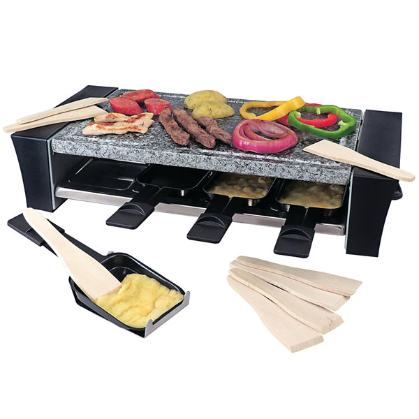 Swissmar 8-Person Ticino Raclette Granite Party Grill