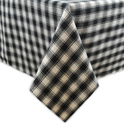 Design Imports French Check Tablecloth