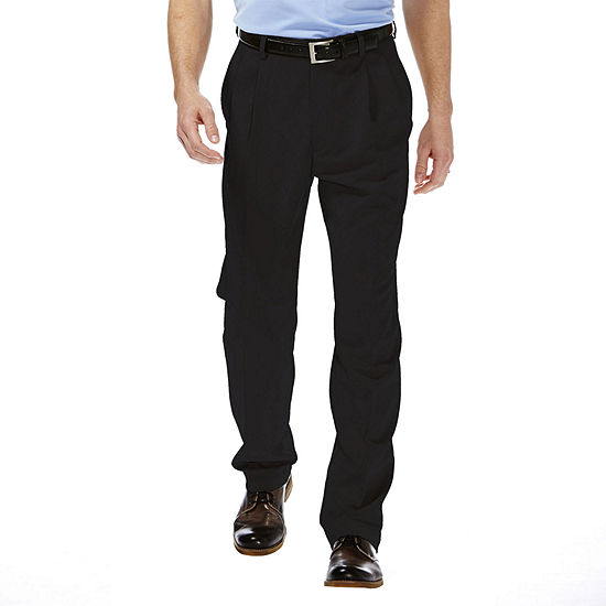 Haggar® Cool 18® Classic-Fit Pleated Pants