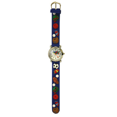 Olivia Pratt Kids Sports Blue Strap Watch-17174