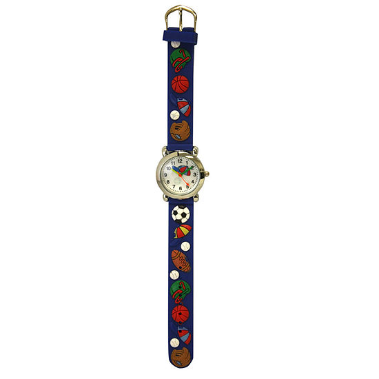 Olivia Pratt Kids Sports Blue Strap Watch-17174