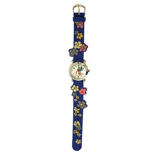Olivia Pratt Womens Blue Strap Watch-17813