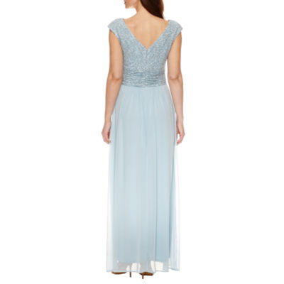 Sleeveless Evening Gown