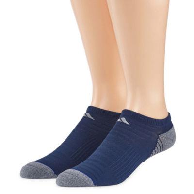 adidas 2 Pair No Show Socks-Mens